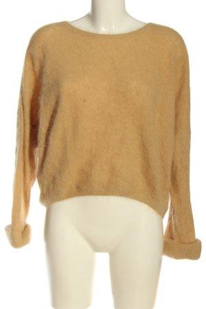 American Vintage Maglione girocollo arancione chiaro stile casual