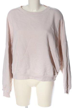 American Vintage Sweter z okrągłym dekoltem kremowy W stylu casual