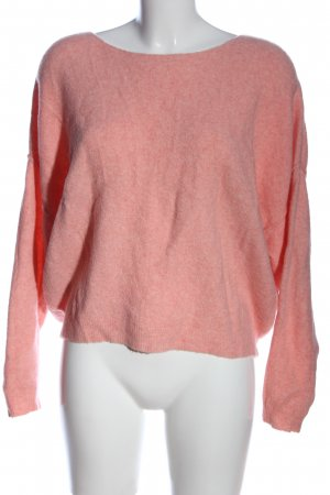 American Vintage Maglione girocollo rosa puntinato stile casual