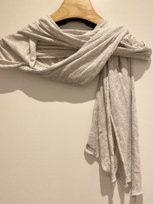 American Vintage Écharpe d'été gris clair