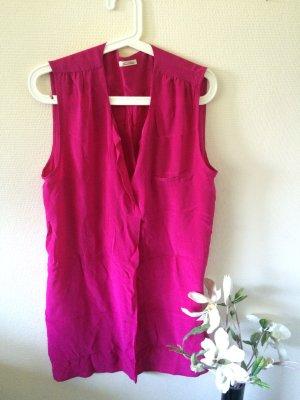 American Vintage Seiden Kleid pink S