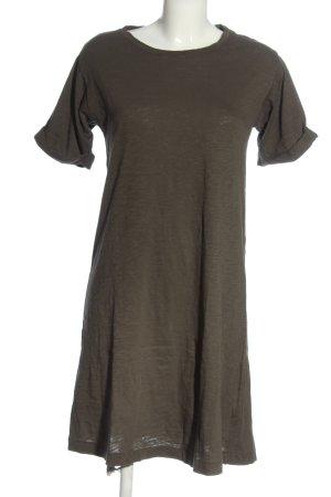 American Vintage Shirt Dress khaki casual look