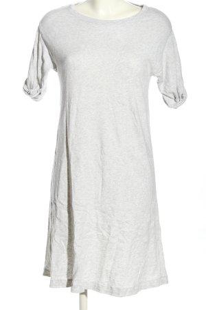 American Vintage Sukienka o kroju koszulki jasnoszary Melanżowy W stylu casual