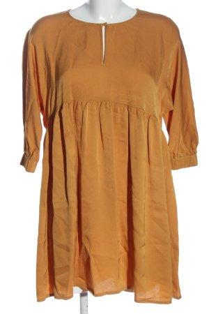 American Vintage Robe d'été orange clair style décontracté