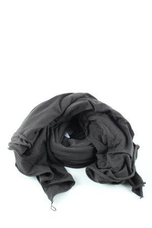 American Vintage Sciarpa estiva nero stile casual