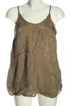 American Vintage Haut à fines bretelles bronze style décontracté
