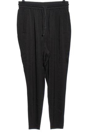 American Vintage Pantalón tipo suéter negro look casual