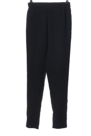 American Vintage Pantalon en jersey noir style décontracté