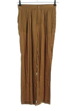 American Vintage Stoffhose braun Casual-Look