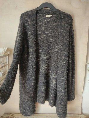 American Vintage Veste en tricot gris-gris foncé