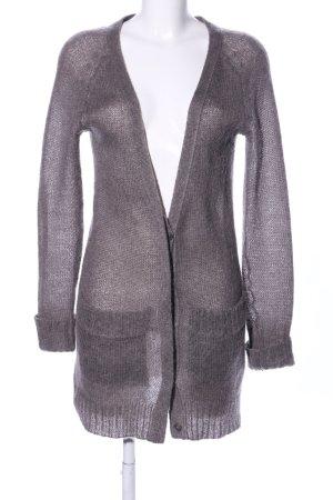 American Vintage Gebreide jas bruin casual uitstraling
