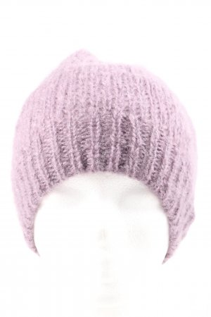 American Vintage Knitted Hat lilac casual look