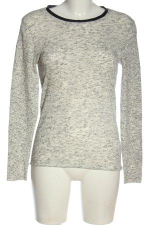 American Vintage Maglione lavorato a maglia grigio chiaro puntinato stile casual