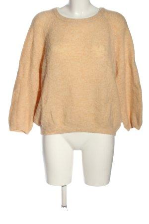 American Vintage Jersey de punto crema moteado look casual