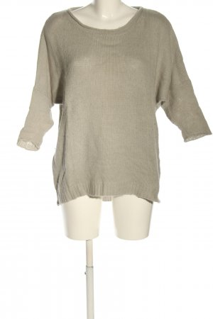 American Vintage Knitted Sweater light grey casual look