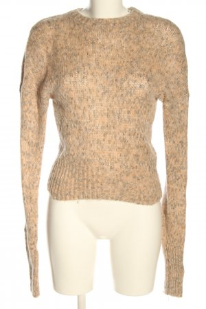 American Vintage Knitted Sweater nude-black flecked casual look