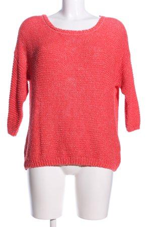 American Vintage Gebreide trui rood casual uitstraling