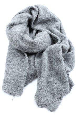 American Vintage Sciarpa lavorata a maglia grigio chiaro stile casual