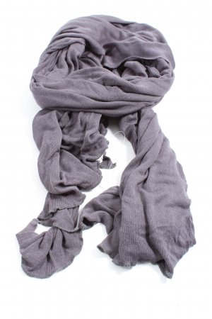 American Vintage Knitted Scarf silver-colored casual look