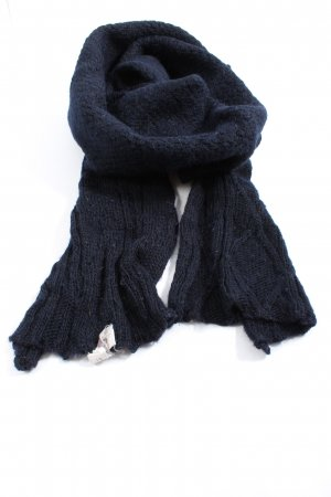 American Vintage Knitted Scarf blue casual look