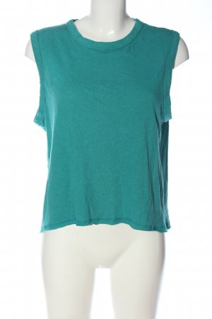 American Vintage Knitted Top turquoise casual look