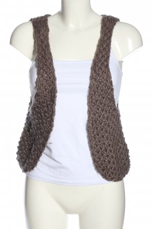 American Vintage Knitted Vest brown casual look