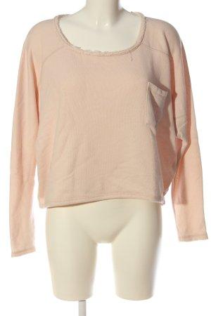 American Vintage Sweatshirt nude Casual-Look