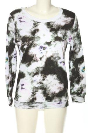 American Vintage Sweatshirt Allover-Druck Casual-Look