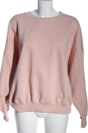 American Vintage Sweatshirt pink Casual-Look