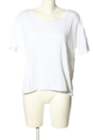 American Vintage T-shirt biały W stylu casual