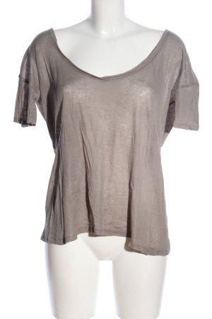 American Vintage T-Shirt braun Casual-Look