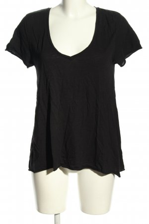 American Vintage T-shirt nero elegante