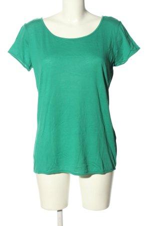 American Vintage T-shirt groen casual uitstraling