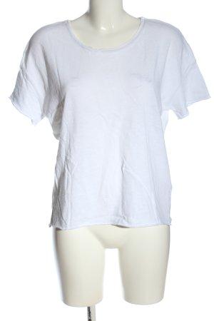 American Vintage T-shirt blanc style décontracté