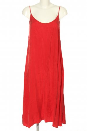 American Vintage Trägerkleid rot Casual-Look
