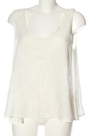 American Vintage Top na ramiączkach biały W stylu casual