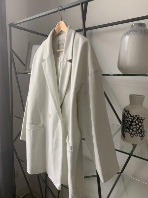 American Vintage Abrigo de lana blanco puro Lana