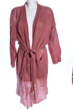American Vintage Wolljacke pink Casual-Look