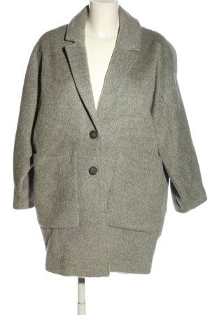American Vintage Manteau en laine gris clair moucheté style d'affaires