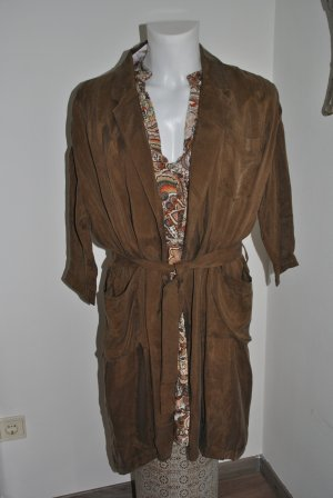 American Vintage Cappotto taglie forti bronzo Seta