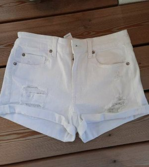 American Eagle Outfitters Short blanc