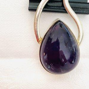 Breloczek srebrny-fiolet