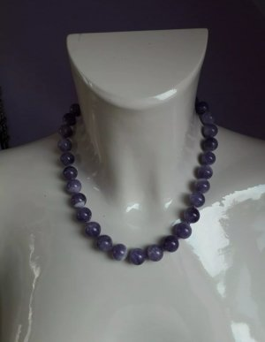 Juwelier Collar de perlas lila