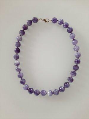 Juwelier Colliers ras du cou violet-violet