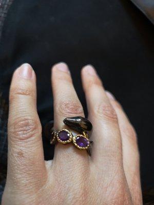 Amethyst Ring, Silber