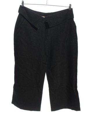 amiable Pantalone di lino nero stile casual