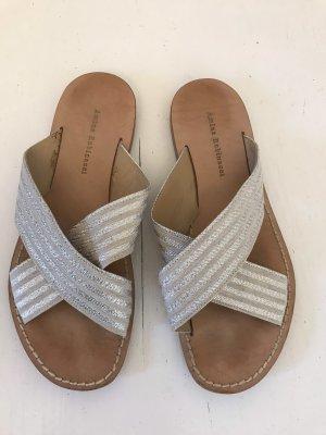 Amina Rubinacci Sandalo da spiaggia argento