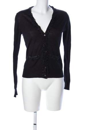Amira Cardigan black casual look