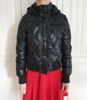 Amisu 34 XS Gesteppt Jacke Gesteppte Winterjacke Mantel Bomberjacken Trenchcoat Pullover Cardigan Strickjacke