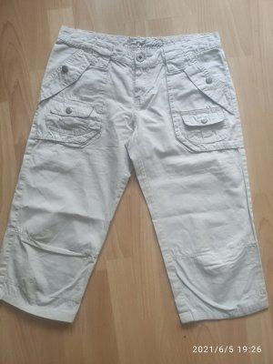 Amisu Pantalone a 7/8 beige chiaro